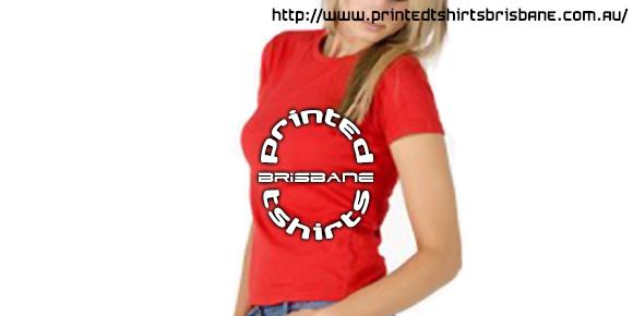 Ladies Slimfit Custom Tee Printed Tshirts Brisbane